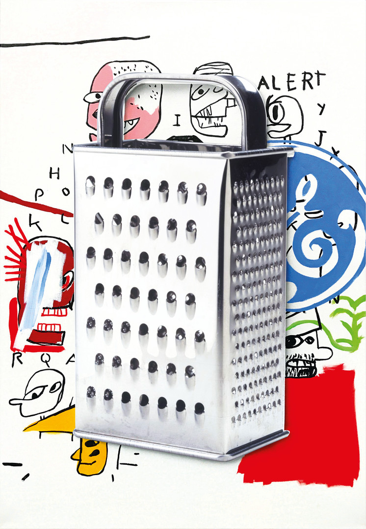 Cheese Grater, 2018