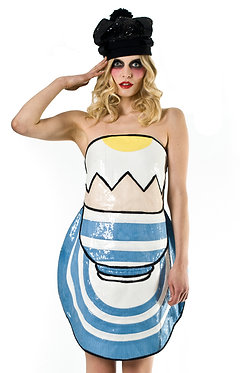 Boilded Egg Sequin Dress