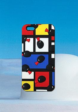 Pingu Mondrian Phonecover