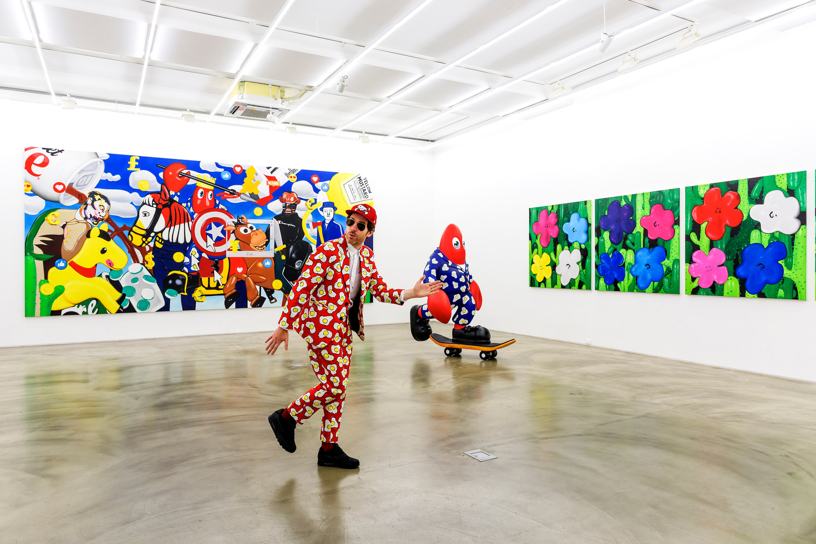 Gallery Simon installation view