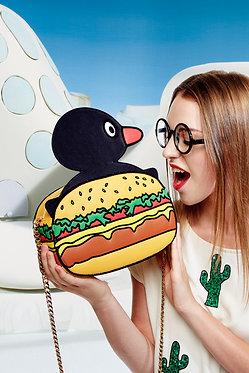Pingu Burger Bag