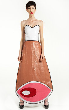 Meat Sequin Dress
