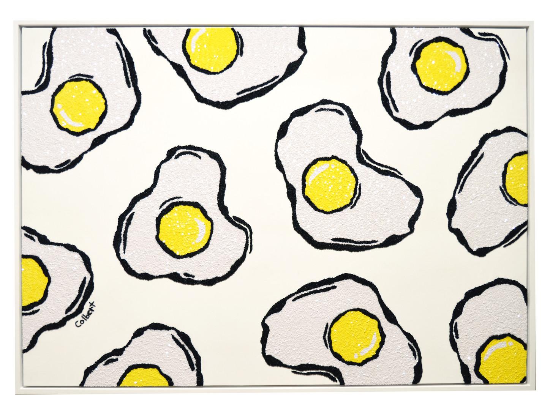 fried eggs, 2015