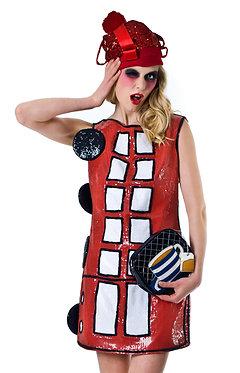Bus Sequin Dress