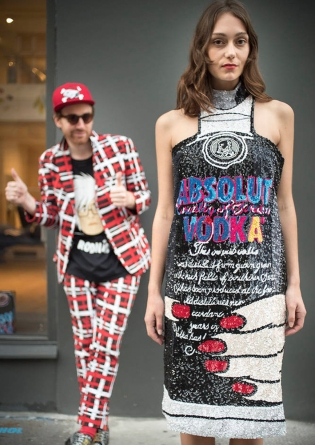 rodnik-band-absolut andy_absolut vodka Fashion_Sequin Absolut Vodka Dress F