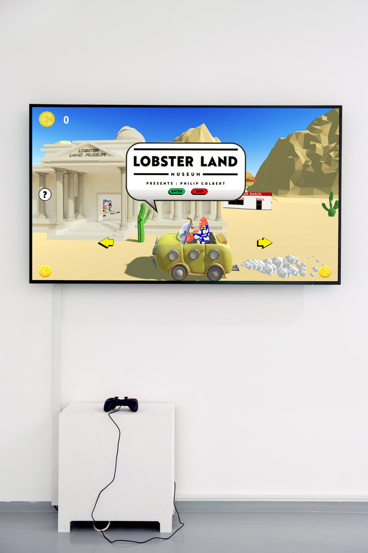LOBSTER LAND VIDEO GAME VIEW