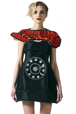 Lobster Telephone Sequin Dress