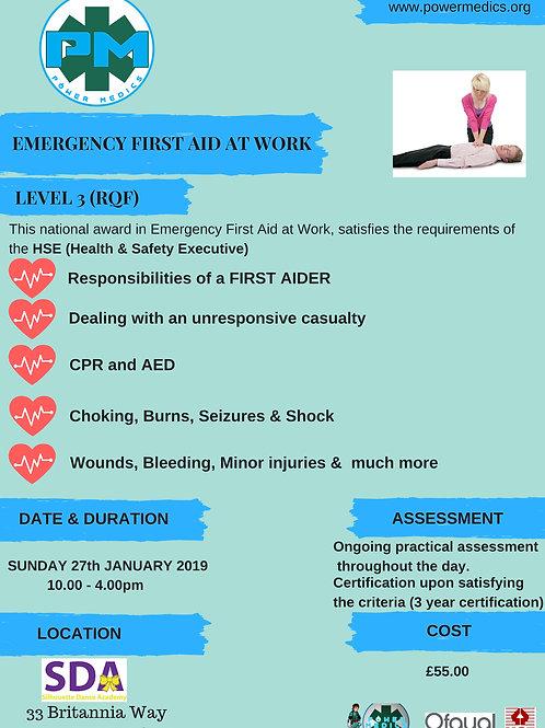 LICHFIELD EMERGENCY FIRST AID AT WORK