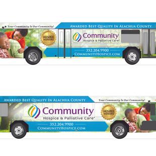 Bus Wrap Design in Gainesville Fl