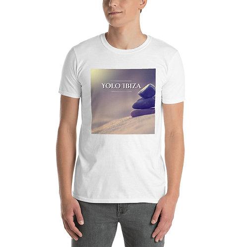 Yolo Ibiza Stone Print Short-Sleeve Unisex T-Shirt