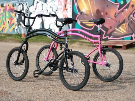 Представлен маневренный велосипед Helyx с двумя рулевыми колесами