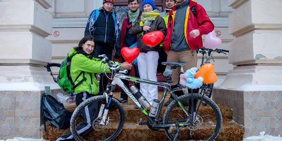 Îndragostiți pe bicicletă 15.02.2020
