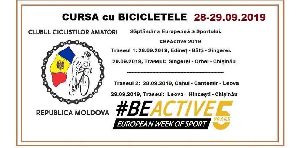Curse cu Bicicleta / #Be Active 2019
