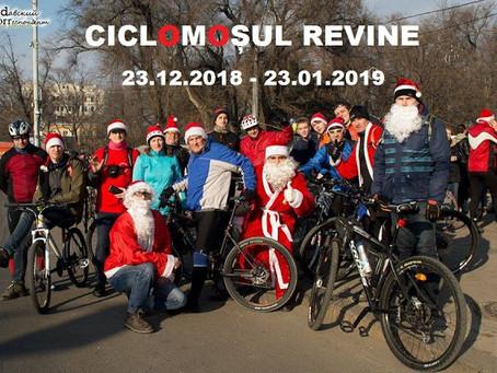 Стартовала Благотворительная Акция Мош Крэчун На Велосипеде. Всё Желающие Могут Принять Участие