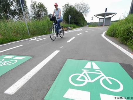 В Германии открыли скоростную трассу для велосипедистов