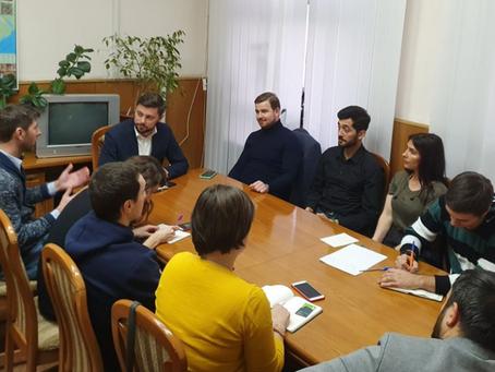 Вице-примар Кишинева Виктор Киронда провел встречу с представителями велосообщества города