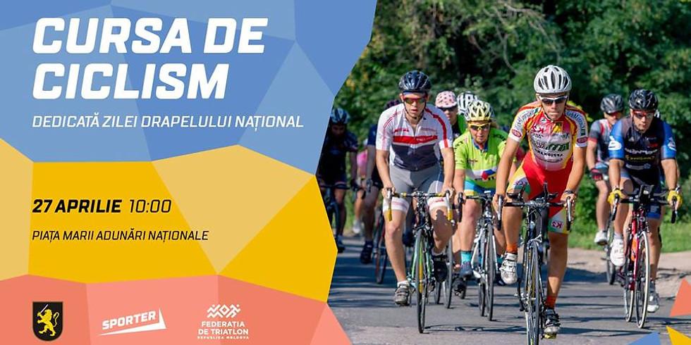 Cursa de ciclism dedicată Zilei Drapelului Național