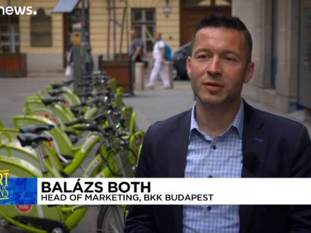 Будапешт стремится стать городом, адаптированным для велосипедистов