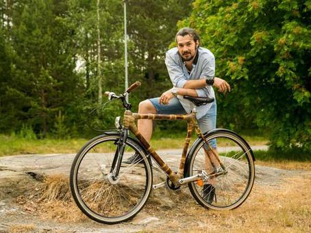Biciclete din bambus, construite manual, la Cluj. Care sunt avantajele?
