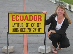 At the Equator, Ecuador