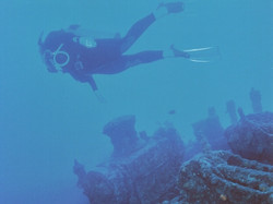 Wreck diving, South Pacific