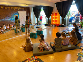 Magic workshop in HK Yoga