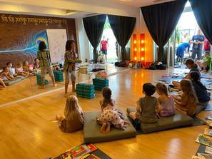 Magic workshop in HK Yoga