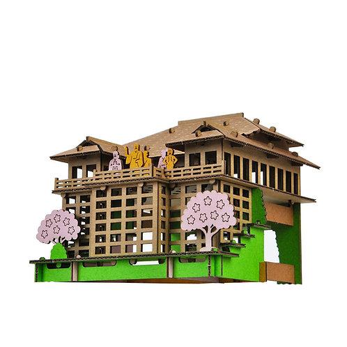 PUSU PUSU 3D - Kiyomizu-dera Temple