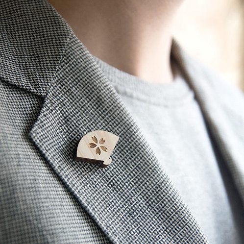 Pin Badge - Japanese Object