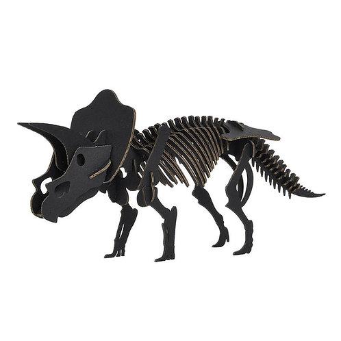 DINO BLACK -Triceratops