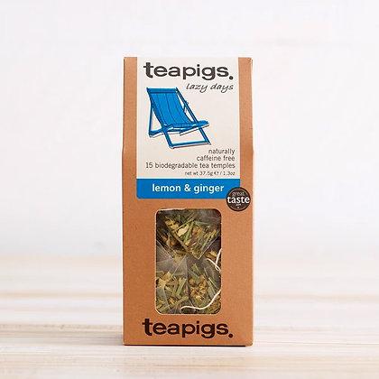Teapigs - Lazy Days (Lemon Ginger)