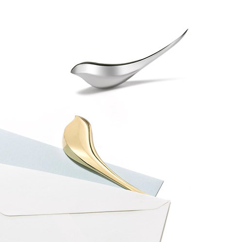 Birdie Paper Knife Gold & Silver