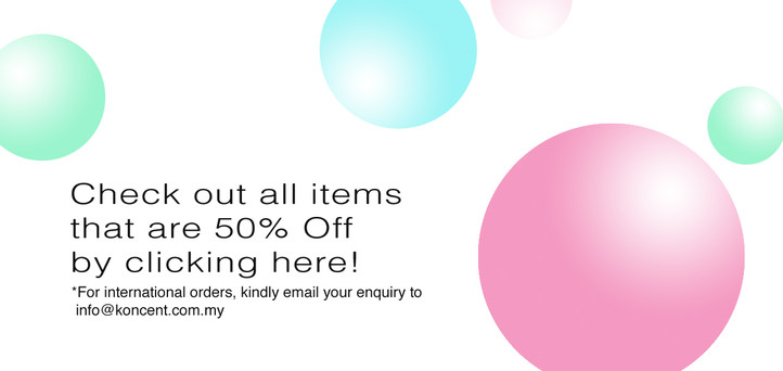 Items on 50% Discount