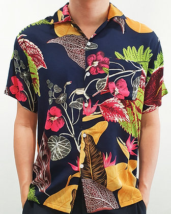 Aloha Shirt -The Patriot Blue