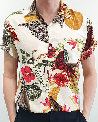 Aloha Shirt -The Patriot Beige