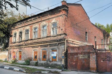 Дом Гектора Баракки. Саратов, Соляная, 30