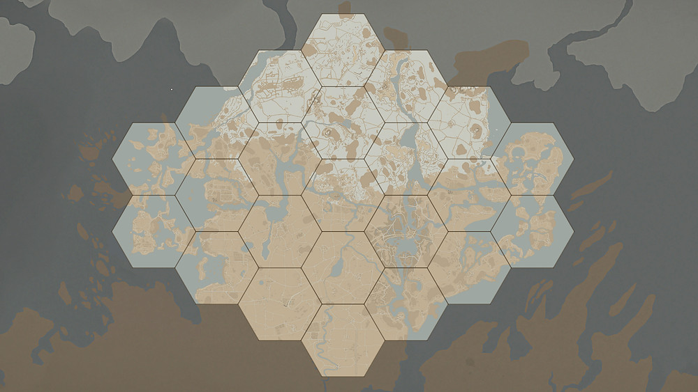 This is the world map for Update 37. Several aspects are still a work in progress (such as road colour)