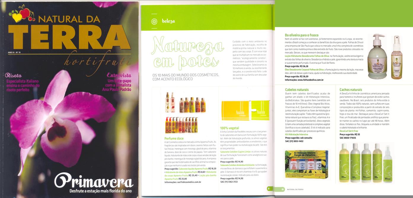 Natural da Terra Magazine