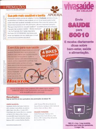 Viva Saúde Contest - Magazine