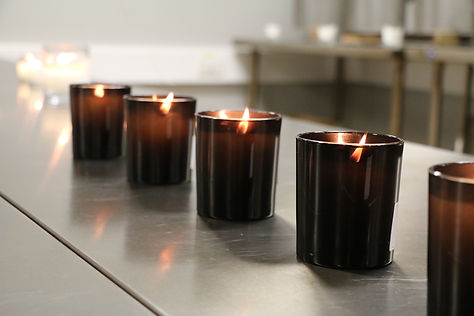 Development - Creating the perfect candle takes time and expertise