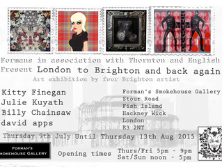 'LONDON TO BRIGHTON AND BACK AGAIN' ART EXHIBITION