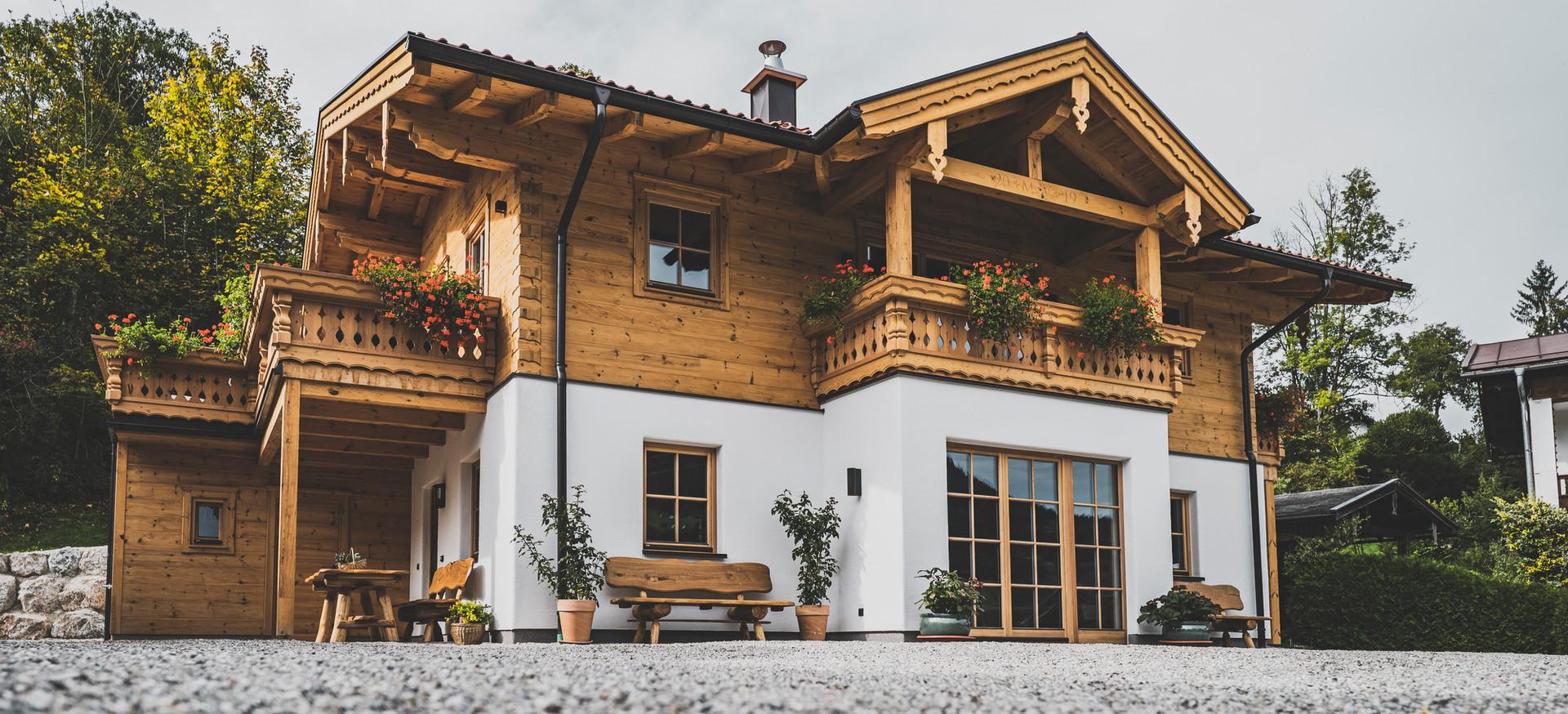 Kuchler Blockhaus - Referenzfoto