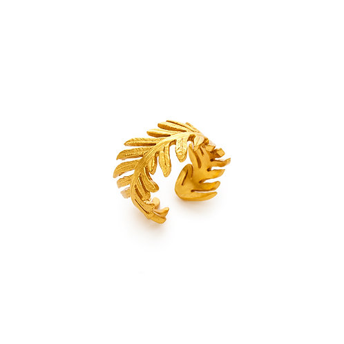 Fern Ring Gold One Size