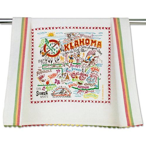 OKLAHOMA DISH TOWEL