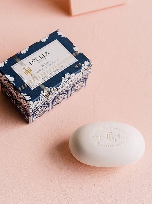LOLLIA DREAM PERFUMED SHEA BUTTER SOAP