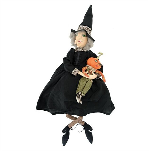 Marleigh Witch and Pumpkin by Joe Spencer