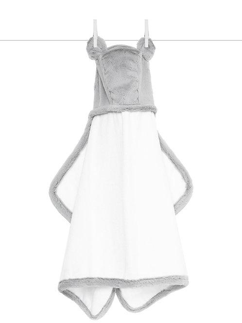 Little Giraffe Luxe™ Baby Towel Silver