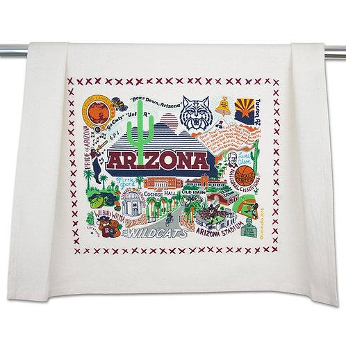UNIVERSITY OF ARIZONA DISH TOWEL