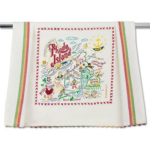 RHODE ISLAND DISH TOWEL