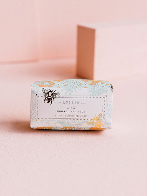 LOLLIA WISH PERFUMED SHEA BUTTER SOAP